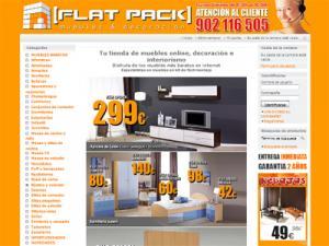 Flatpack tienda de muebles online compras vip for Muebles flat pack