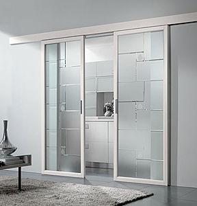 El impacto visual de las puertas correderas compras vip for Puertas correderas de cristal