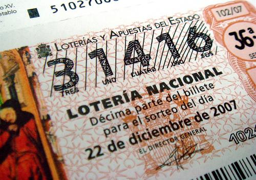 No pierdas la oportunidad de ganarte «El Gordo» con la lotería esta navidad 2012