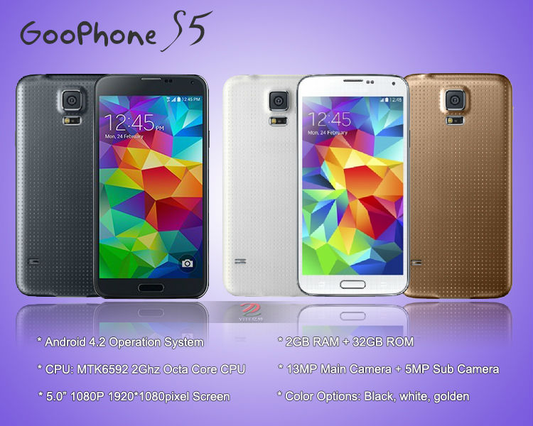 Goophone-S5-1-7Ghz-mtk6592-Octa-Core-Galaxy-S5-1-1-Smartphone-Android-4-4-5